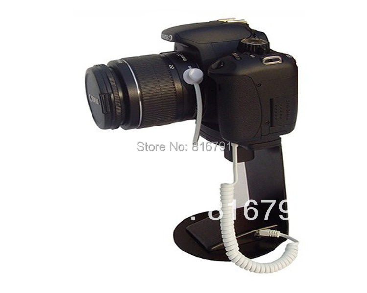free shipping alarm cameras display holder for Digital Single Lens Reflex cameras with charge alarm function, remote control(China (Mainland))