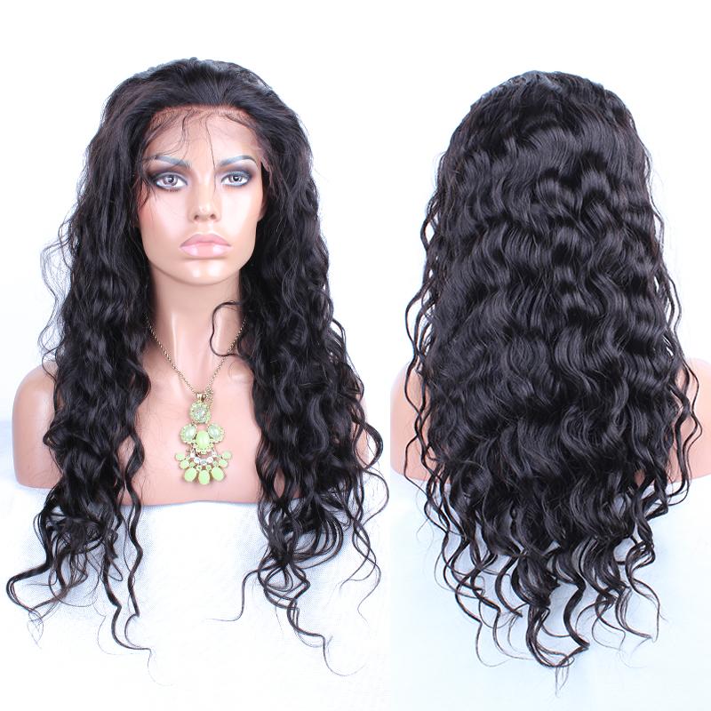 Здесь можно купить  Brazilian Virgin Hair Wig Glueless Full Lace Human Hair Wigs For Black Women Body Wave Lace Front Human Hair Wigs With Baby Hair  Волосы и аксессуары