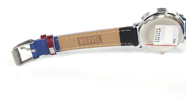 Disney бренда Кварцевые часы 30 м водонепроницаемый Мальчик Паук Мультфильм Аниме дети часы Капитан Америка 3