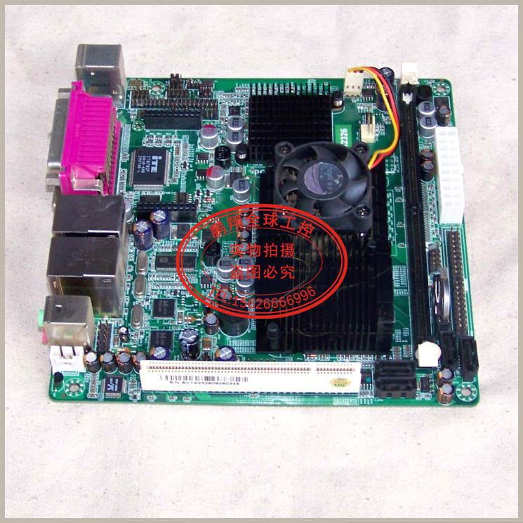Free shipping Walking SV1-A2326 MINI ITX motherboard integrated ATOM N230 dual-port DDR2 2COM(China (Mainland))