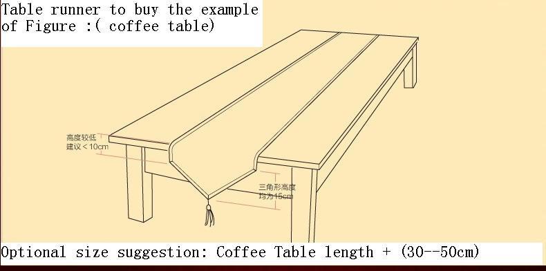 Подстилка из ткани для сервировки стола JAY banquet 30x210cm AB version of the Rose