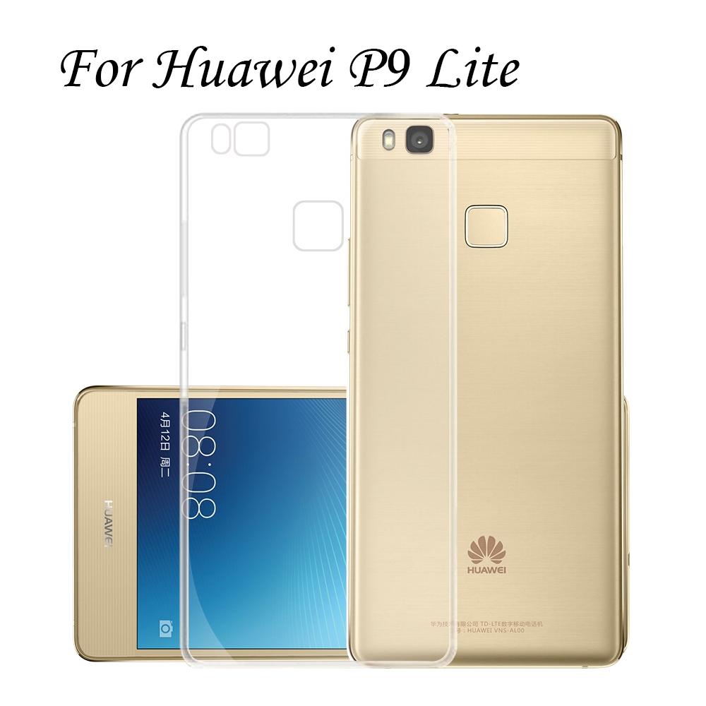 2 Pcs/Lot Huawei P9 Lite Ultrathin Case TPU Skin Back Clear Transparent Cover G9 Coque Funda Capinha - Jiashan Co., Ltd. store
