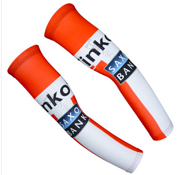 red white cycling arm warmer tinkoff saxo bank 2015 cycling arm sleeve ciclismo saxo bank(China (Mainland))