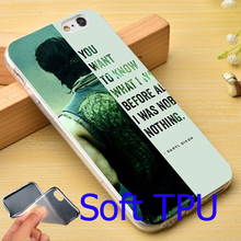 Buy Walking Dead Daryl Dixon Soft TPU Phone Case iPhone 7 6 6S Plus 4 4S 5C 5 SE 5S Cover for $2.39 in AliExpress store