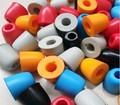 image for 10 Pairs 20Pcs 15mm Soft Foam Earbud Headphone Ear Pads Replacement Sp