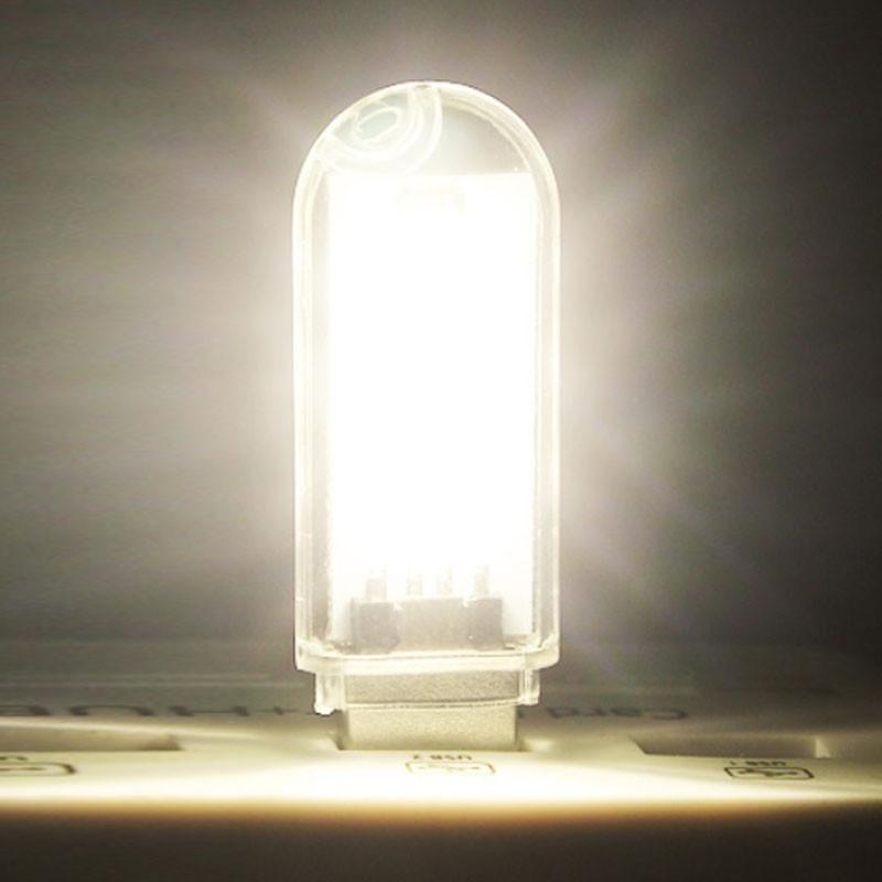 1pcs USB Night Lights Mini Lamp Computer Desk Bulbs ...