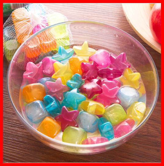 20 pcs Kitchen Cooking frozen ice mold ice particles traveling outdoor reusable ice Cooking(China (Mainland))