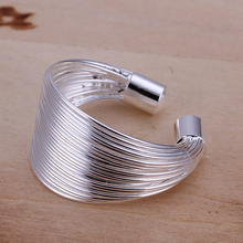 Free Shipping 925 Sterling Silver Ring For Women And Men Summer Style Fashion Jewelry Silver Rings
