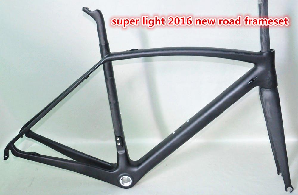 Japan Toray Material T800 Full carbon road bike frame dengfubike 700C ultralight carbon bicycle frame di2 compatible 25c tyre(China (Mainland))