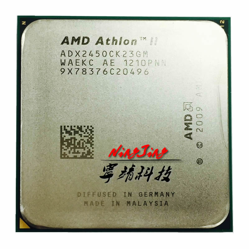 AMD X2 245 2.9 GHz Dual-Core CPU Processor ADX245OCK23GQ/ADX245OCK23GM Socket AM3(China (Mainland))