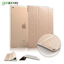 Slim Silk Smart Case for ipad air 2 / air 1 ( ipad 5 6 ) PU Leather Cover Fold Stand PC Hard Case for Ipad Mini 3 2 1 Auto Sleep(China (Mainland))
