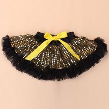 Baby Girls Tutu Skirts Chiffon Fluffy Pettiskirts Tutu Princess Party Skirt Dance Wear 0-2 Ys 7 Colors Clothing  Free shipping(China (Mainland))