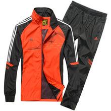 Spring Autumn Men's Brand Sports Tracksuit Set Hoodies Sweatshirts Sportswear Jackets Pants casual sports suits men tracksuits(China (Mainland))