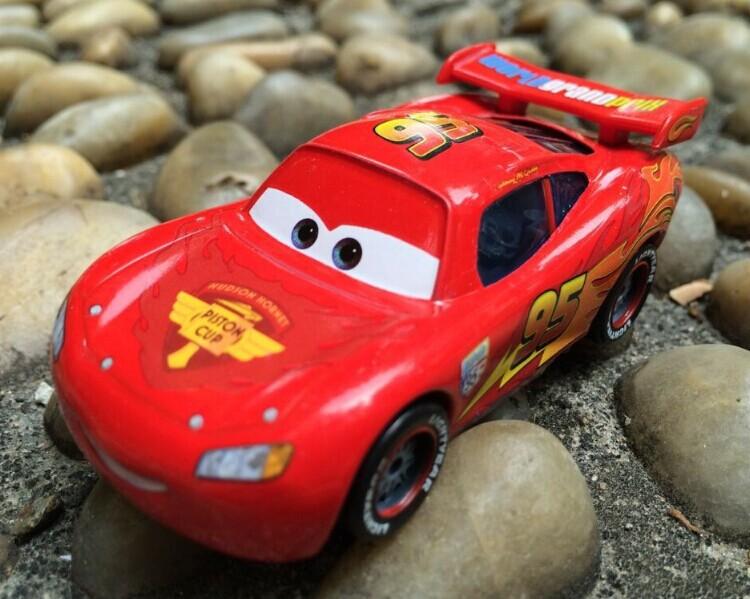 Mc Queen Pixar Cars No.95 Radiator Metal Diecast Toy Car 1:55 diecast metal Baby Toy truck toys cars pixar metal original 1pcs(China (Mainland))