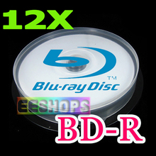Free Shipping Wholesale Cheap 50GB Recordable BD-R DL Blu-ray Blank Disc 50 GB 6X 12X 260MIN Rewritable Discs Lot 100pcs Pack(Hong Kong)