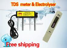 Filtro de agua pluma prueba TDS Digital portátil Meter electrolizador de agua medición de calidad pureza probador TDS temperatura del metro de prueba