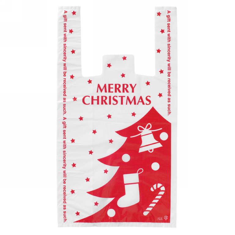 size 18*35cm(7 inch*14 inch) Christmas decoration gift bag Shopping plastic Bag handle house picture 10 - Yiwu Zilue Trading Co.,Ltd Store store