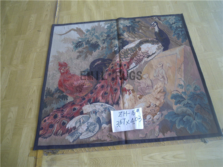 2014 Time-limited Direct Selling Wall Hanging Tapestry Pure Wool Handmade Tapestry 112cmx123cm 3.67'x 4.03' Gc19tap69(China (Mainland))