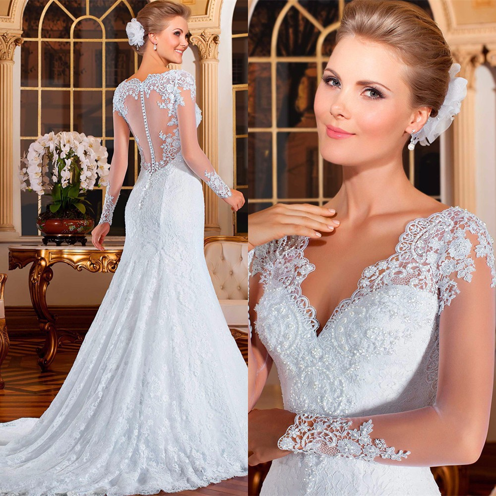 Свадебное платье Fashion Beauty(LILI) Vestido De sereia Noiva 2015 2015 Wedding Dresses свадебное платье wedding dress 2015 vestido noiva wedding dress 2014