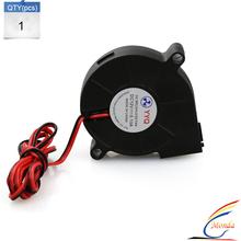 3D printer accessories 5015 turbo Brushless DC Cooling Blast Blower Fan 12V 0.18A 50x50x15mm Reprap Mendel Prusa I3 Printer