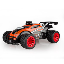 Top Selling BG1505 1/16 Scale 2.4G RC Remote Control Car 4WD Anti-Shock Buggy Car Off-Road Max Speed 20Km/h Brilliant LED Light(China (Mainland))