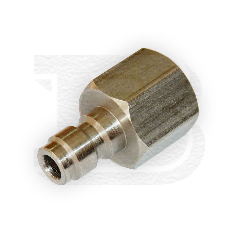 New Paintball HPA/N2 Female NPT1/8-27 Male Quick Disconnect Adaptor Stainless Steel Fill Nipple(China (Mainland))