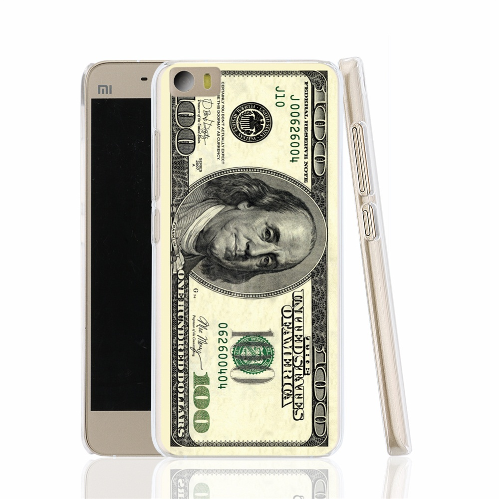 21040 Big Money 100 Dollars cell phone Cover Case for Xiaomi redmi hongmi red rice 1_1s 2 3 note(China (Mainland))