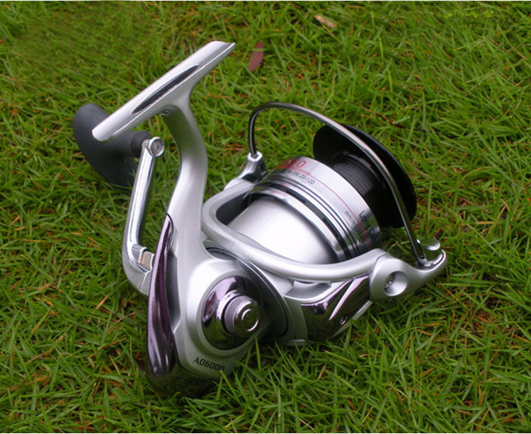 store product Dual Main Bearing Drag System AD  BB Metal Spinning Fishing Reel Carp