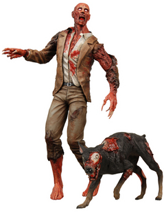 """Classic Movie Game NECA Resident Evil 10th Anniversary Zombie Dog Zombie High Quality Action Figure Toys 7""""(China (Mainland))"""