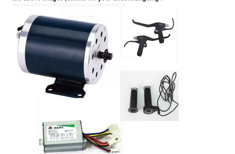500W 24V electric dc brush motor ,electic scooter motor ,electric bicycle motor kit, electric bike kit(China (Mainland))