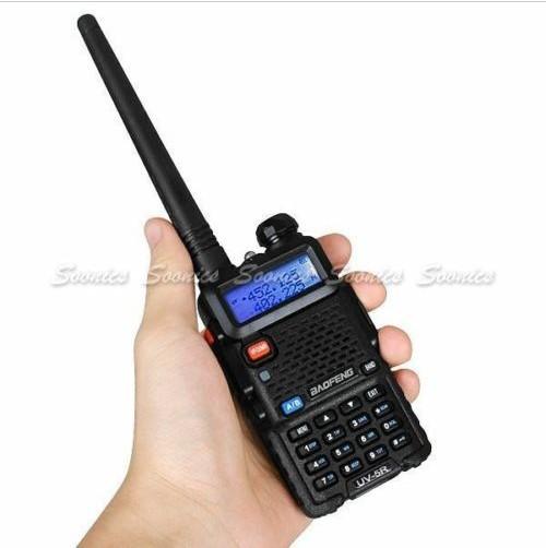 New Arrival UV-5R Dual Band UHF VHF Two-Way Radio Walkie Talkie Intercom DTMF CTCSS Free Shipping & Drop Shipping