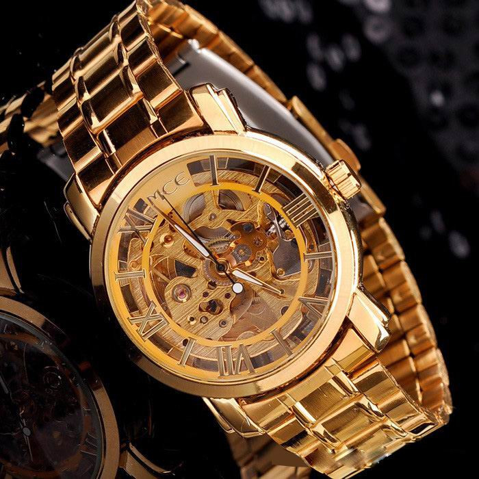 aliexpress buy mce luxury gold watches from reliable