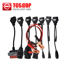 Hot selling CAR CABLE OBD OBD2 full set 8 car cables diagnostic Tool Interface cable for TCS pro plus multidiag pro MVD(China (Mainland))