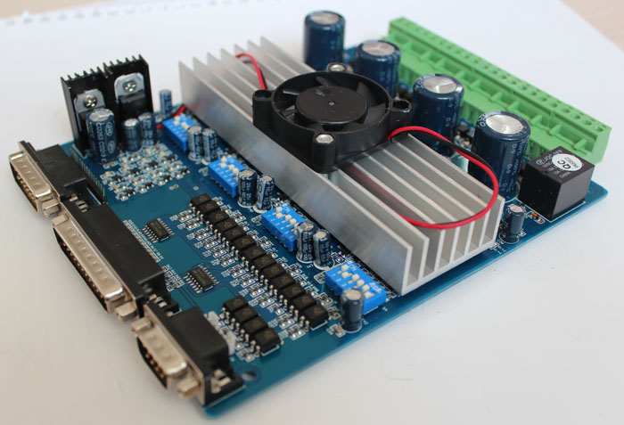 New 4 Axis Tb6560 Stepper Motor Driver Board Controller: 4 axis stepper motor controller