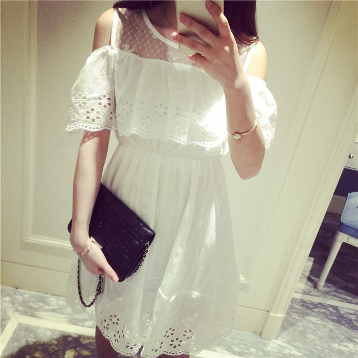 2015-Summer-style-Women-White-Dress-Vest