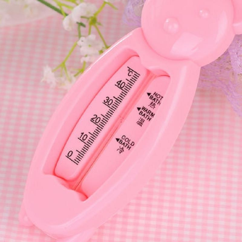 Blue Pink Yellow Child Baby Cute Bear Safety Bath Thermometer Water Temperature Meter Toy <br><br>Aliexpress