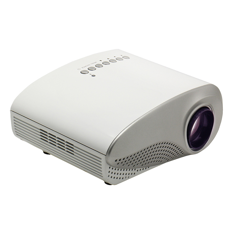 Mini portable led projector hd pocket 1080p home projector for Top rated pocket projectors
