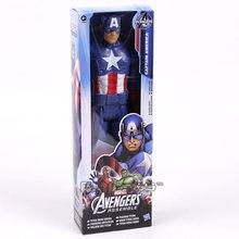 """Marvel titan herói vingadores thanos pantera negra capitão américa thor homem de ferro spiderman hulkbuster hulk figura de ação 12 """"30 cm(China)"""