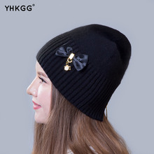 2016 Fashion women's hat.Fall and winter Girl's hat Skullies Beanies.Angora wool blend