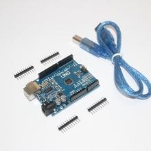 Умная электроника интегральная схема для Arduino UNO R3 UNOR3 MEGA328P CH340 совет по развитию + кабель USB для DIY стартовый комплект