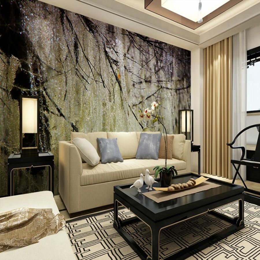 Bedroom Living Room Sofa Tv Background Wallpaper Wallpaper