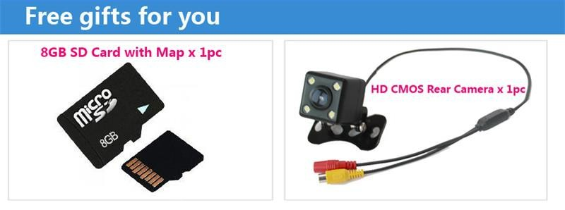 Quad core 1024 600 HD Screen 2 din Android 4 4 Toyota Land Cruiser 200 2007