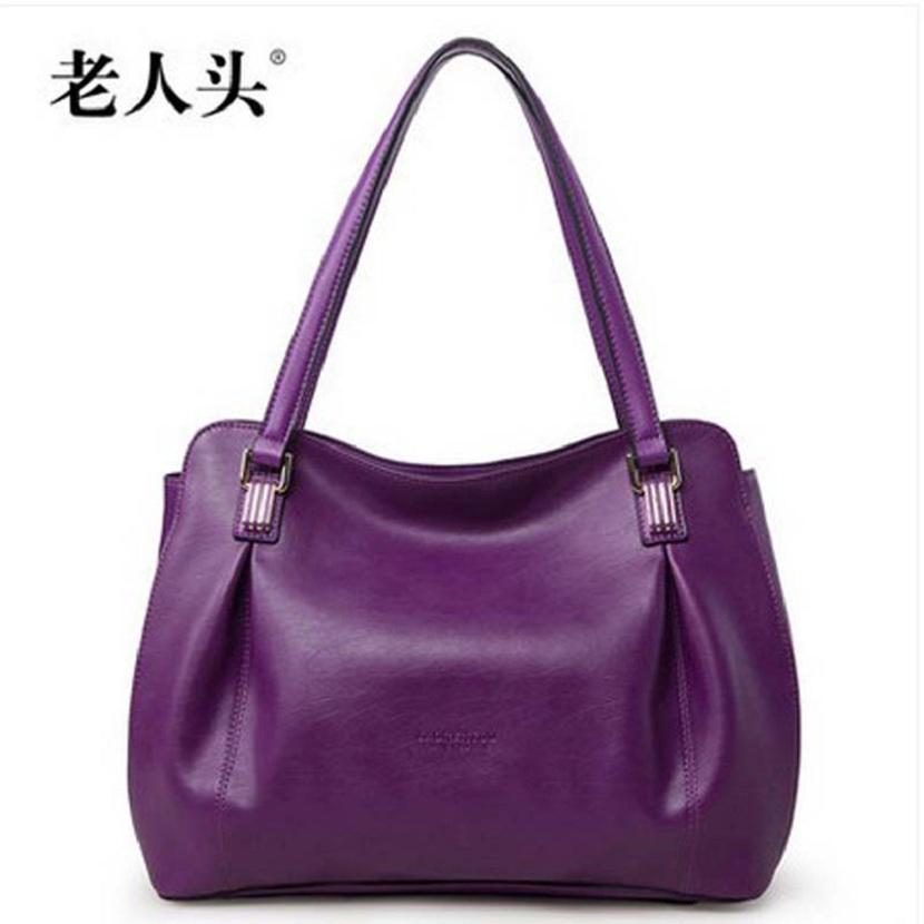 laorentou 2016 spring women handbag  trend quality cowhide shoulder bag fashion handbag large bag<br><br>Aliexpress