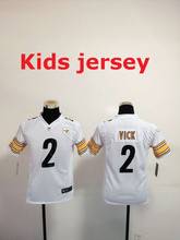 Kids youth Free fast shipping Best Quality Pittsburgh Steelers 32 Franco Harris 83 Heath Miller 84 Antonio Brown(China (Mainland))