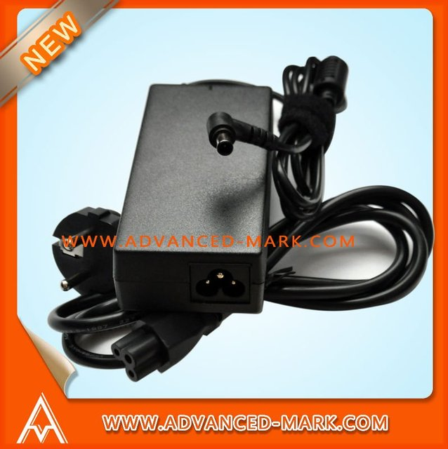 Laptop AC Adapter For Sony 19.5V 4.7A 6.0 X 4.4MM, PCGA-AC16V6,Compatible NO.:VGP-AC19V12 VGP-AC19V19, Packing With Power Cable.