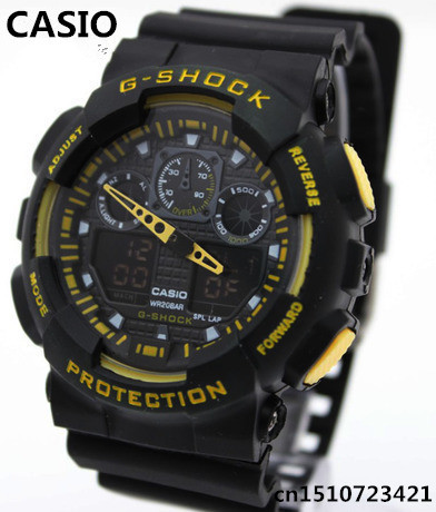 New Fashion Wristwatches Dual time Digital Analog Quartz LED Watches women men sports Military watch Free Shipping K1(China (Mainland))