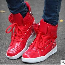 2015 autumn winter Men Boots Korean skateboard fashion high help men s causal shoes flats men