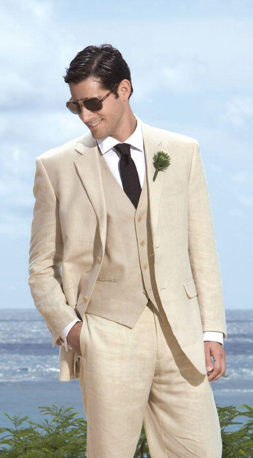 Beige Suit Building a well-rounded wardrobe to last throughout the year is a simple task with the right beige suit. In fact, shopping a selection of cropped jackets is the easiest way to complete any closet.