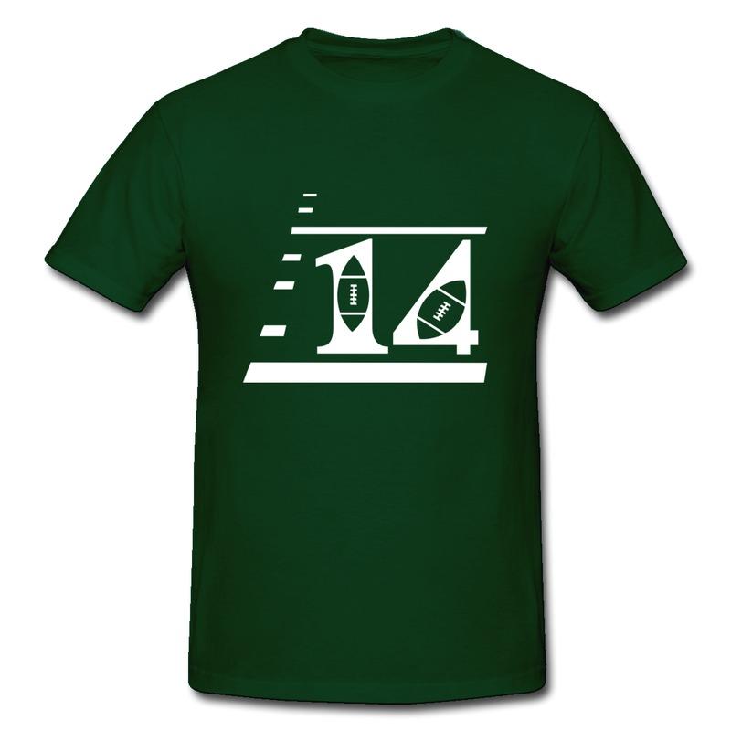 Print Slim Fit Men Teeshirt Custom Football Jerseys With