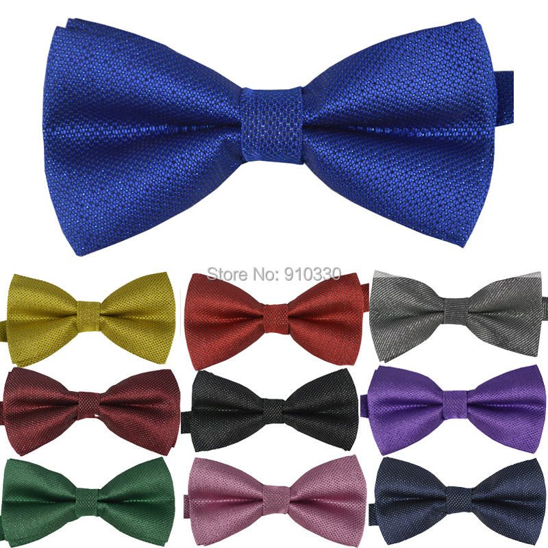 Classic dot Bowtie man Fashion Neckwear Adjustable Unisex Mens Bow Tie Polyester Pre-Tied bowties 38 colors - Clothing supermarket store